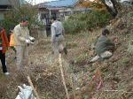 中原区市民健康の森を育てる会 クワガタやカブト虫の生息する森づくり01