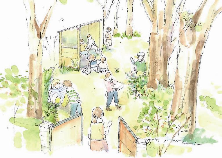 第28回 ポケット・ガーデン部門 国土交通大臣賞 学園町ちゃい旅・ガーデンプロジェクト