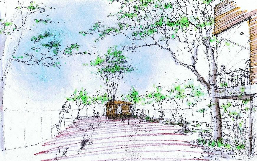 第28回 シンボル・ガーデン部門 国土交通大臣賞 社会福祉法人みらい  みらいおもいけ園