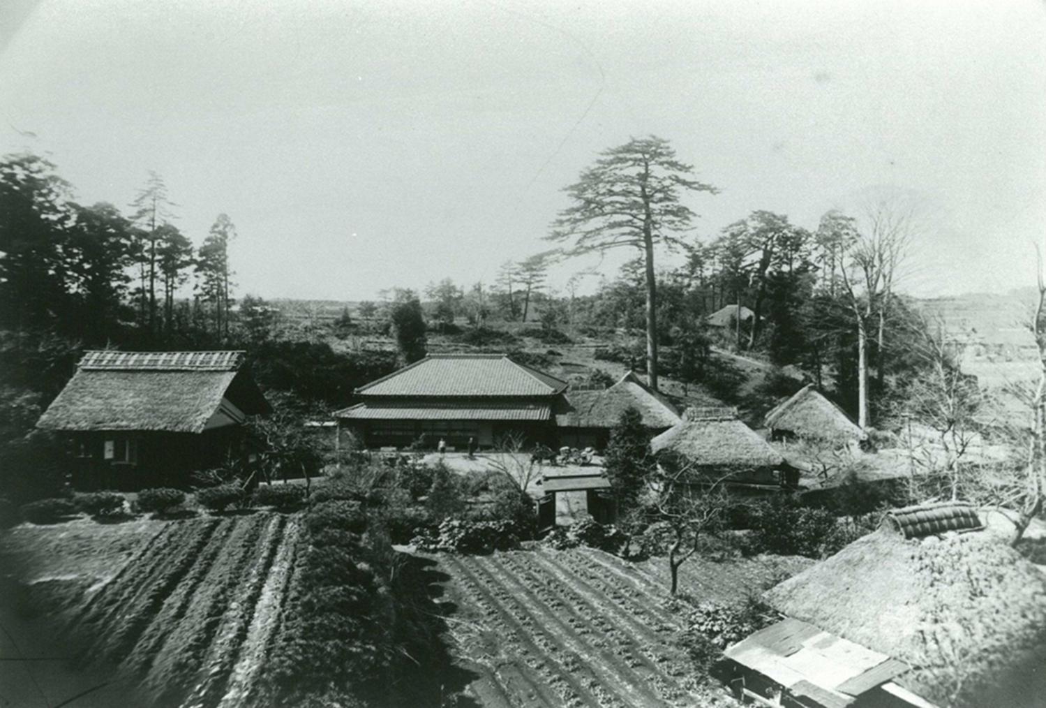 昭和12年の鶴見区北寺尾交差点付近