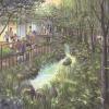 社会福祉法人パドマ園 パドマ・ナーサリースクール 水がせせらぎ蛍の棲む高層住宅の中のシンボル緑化計画