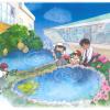 広島市立緑井小学校 モリアオガエルの暮らす水辺の植物ガーデン
