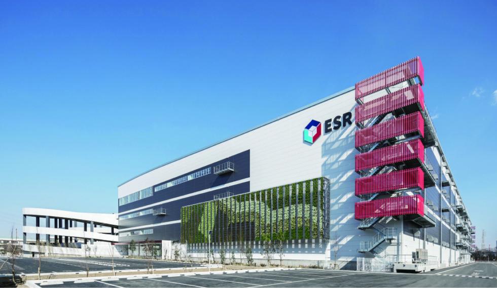 ESR株式会社 渡辺美緒デザイン事務所合同会社 ESR市川ディストリビューションセンター01 全景 ©ESRLTD