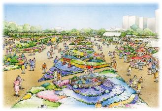 第37回全国都市緑化ひろしまフェア 会場イメージ図(2)