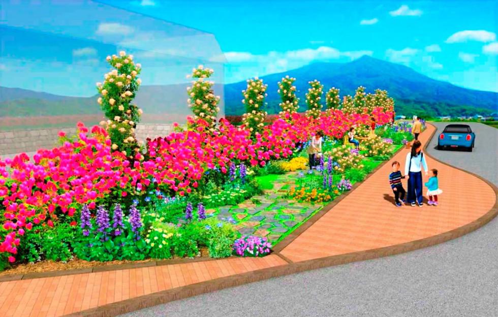 株式会社ユニマットリック 農家の庭に学ぶ「持続可能な都市ガーデン」01