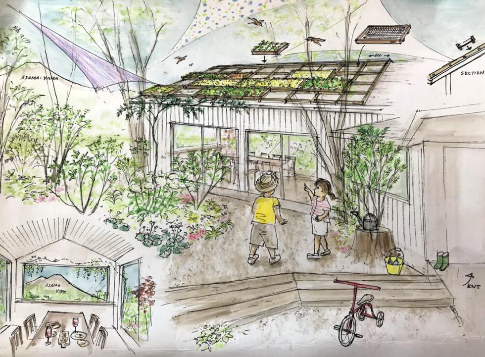 株式会社チャレンジドジャパン 地域に拓けた「屋根緑化」と「空中アート」で共生環境へ!01