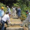 NPO法人浅間温泉木の絆会 ふる里の山大火災 災害防止、花・木の森へ再生活動